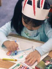 Hội thi vẽ của các bé tại Little Sol Montessori
